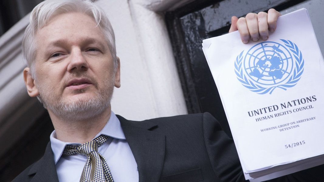 How Assange is the epicentre of geopolitical hypocrisy